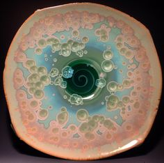 I vividly remember my first introduction to crystalline glazes. I was in my second ceramics class of my undergraduate education, thumbing through the Pottery Plates, Pottery Mugs, Paper Clay Art, Pottery Supplies, Hand Built Pottery, Pottery Designs, Pottery Ideas, Mind Tricks, Glaze Recipe