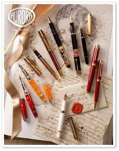 Aurora Dante's Inferno<br/>Limited Edition Fountain Pen Pens de Luxe Online Shop
