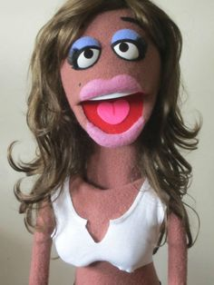 ebay $225 + Shipping : Crazy Girl Professional Muppet style Puppet