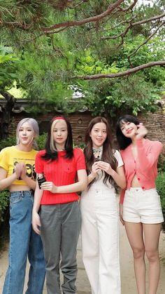 Kpop Girl Groups, Korean Girl Groups, Kpop Girls, Korean Girl Fashion, Blackpink Fashion, Jenny Kim, Blackpink Debut, Mode Ulzzang, Blackpink Funny