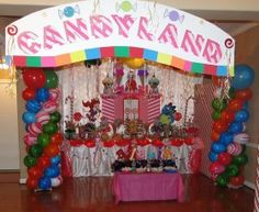 Candy Land Party Theme Decorations   Candy Land   Party Decorations View
