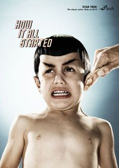 Sci Fi Channel: Spock.