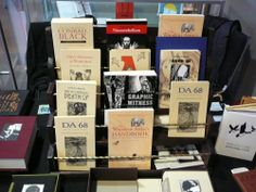 The selection from George A. Walker Books and Art features quite a few PQL books. Photo by Don McLeod.