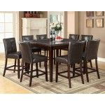 Coaster Furniture - Milton 9 Piece Dining Table Set - 103777-103779-9SET