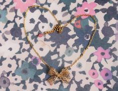 Anthropologie Knockoff Tutorial: Gilded Needlepoint Necklace