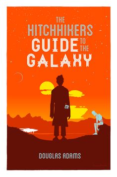I should reallyget out more.: Illustration: Hitchhikers Guide to the Galaxy redux