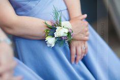 Pearl corsage bracelet for your bridesmaids : Mirror Imaging Photography: Emma & David's Nottingham University Wedding