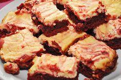 Jacy Lee Pulford: Red Velvet Cheesecake Brownies {Recipe}