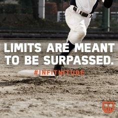 Destroy limitations before they get bigger than what they are.  Surpass them and let them know who you are.  You are a person destined to do great things.   Tag a friend and let them know they are destined for greatness!  This is The Power of Existence. www.infitnitude.com  #infitnitude #infitsquad #nutrition #active #healthy #fitness #powerofexistence  #morning #potential #hardwork #keepgoing #champions #success #today #aerobics #greatday #fitfam #infit #great #enjoy #start #today #baseball