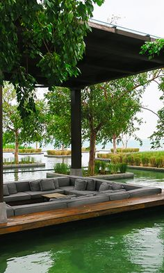 Everything about the Nizuc Resort & Spa, Mexico is amazing. The hotel is stunning, offering up some amazing views; the staff are so friendly; the hotel was stunning; and the food was delicious. Best Resorts, Hotels And Resorts, Beautiful Hotels, Beautiful Places, Cancun Mexico Resorts, Koh Chang, Spa Design, Indochine, Interior Exterior