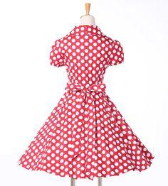 2015 mulheres verão estilo do vestido de algodão bolinhas 40 s 60 s Retro Vintage 50 s Rockabilly vestido balanço Pinup vestidos vestido de festa 6089 em Vestidos de Roupas e Acessórios no AliExpress.com   Alibaba Group