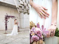 Lush Amethyst Wedding Inspiration