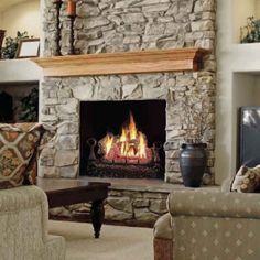 Napoleon GVFL30 Fiberglow™ Vent Free Gas Log Set | CornerstoneMantels.com: Fireplace Accents & Decor, Gas Logs, Vent Free Gas Logs
