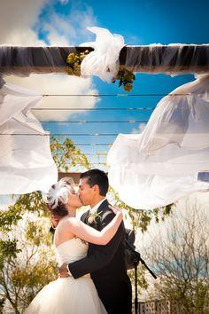 An Earthfriendly, Eco-Chic Wedding at Las Vegas's Springs Preserve Wedding Chuppah, Wedding Canopy, Las Vegas Weddings, Real Weddings, Wedding Blog, Our Wedding, Chic Wedding, Art Catering, Outdoor Ceremony