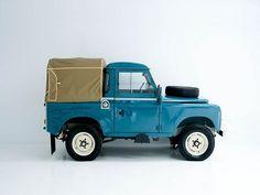 Land Rover Series III 88 Pickup