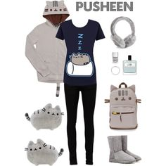 A fashion look from March 2016 featuring Yves Saint Laurent jeans, UGG Australia ankle booties and Tiffany & Co. bracelets. Browse and shop related looks.