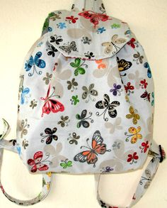 Butterfly Backpack- Stylish Backpack- iPod Backpack - Tablet Βags - School Backpacks – Beach Backpack- Special Gift for Girls.