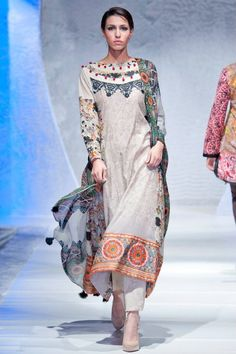 Lawn- Pakistan Fashion Week 2012