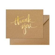 Paper Color kraft Ink Color gold foil Envelope Color kraft Envelope Liner none Printing Type letterpress Dimensions 4.25 x 5.5 inches Quantity 6 cards + 6 envelopes Our Kraft Scratchy Thank You note s