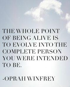 -Oprah Winfrey