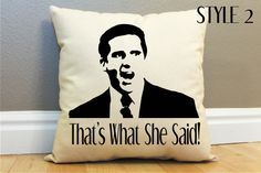 Hey, I found this really awesome Etsy listing at https://www.etsy.com/listing/170155070/2-styles-michael-scott-thats-what-she