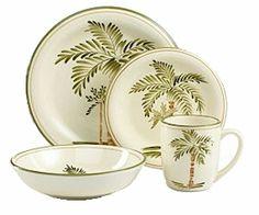 Beachcomber Melamine Dinnerware. A sandy beige ground adorned with ...