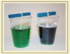 Un experimento para fabricar cristales