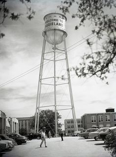TBT of the water tower!