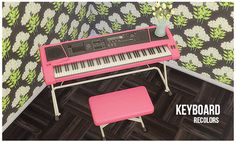 The Sims 4 | lina-cherie: 7 colors of Adonis Pluto's keyboard | buy mode new objects piano hobbies