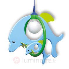Joyeuse applique pr chambre d'enfant Dolphin bleu, référence 8574041 - Lampes mignonnes et rigolotes pour chambre d'enfant et bébé chez Luminaire.fr ! White Out Tape, Applique, Office Supplies, Lighting, Child Room