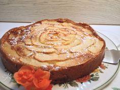 Torta light con mele e albumi Fulvia's Kitchen