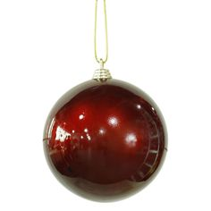 candy ball christmas ornament