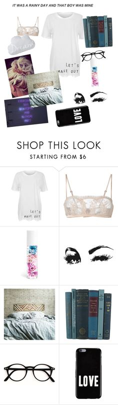 """Let's make out"" by mystical-dimples ❤ liked on Polyvore featuring La Perla, Blossom and Givenchy"