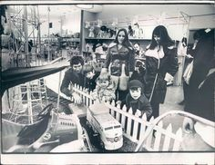 1970 Chicago, Illinois Marshall Field's Toy Department Press Photo