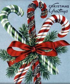 Vintage christmas Home Decor mens home decor Vintage Christmas Images, Old Christmas, Old Fashioned Christmas, Retro Christmas, Vintage Holiday, Christmas Crafts, Antique Christmas, Christmas Candy, Vintage Greeting Cards