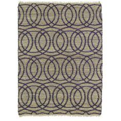 A Guide to Choosing Handmade Natural Fiber Canyon Purple Circles Rug (80 x 110)