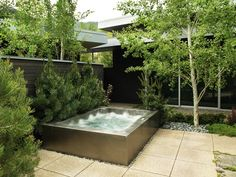 small stainless steel rectangle country spa