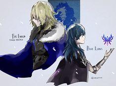 Blue Lions all the way! Blue Lion, Fire Emblem Fates, Anime Ships, Anime Style, Game Art, Fandom, Geek, Wallpaper, Friends