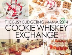 "Our ""Cookie + Whiskey Exchange"" Couples Party! - The Busy Budgeting Mama"