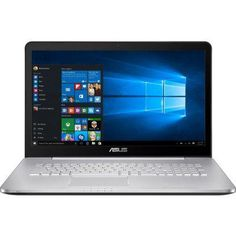 "Ноутбук ASUS VivoBook N752VX-GB273T (90NB0AY1-M03300) (90NB0AY1-M03300)  — 91037 руб. —  (UHD DISPLAY) Core i7 6700HQ/12Gb/HDD 2Tb+128Gb SSD/17.3""UHD IPS AG(3840X2160 )/DVD-RW/nVidia GeForce GTX 950M 4Gb/WiFi/BT/Cam//Windows 10 Home/3.17Kg"