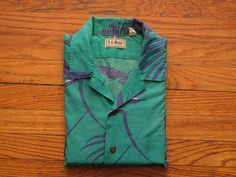 mens vintage LL Bean aloha shirt by countylinegeneral on Etsy, $31.00