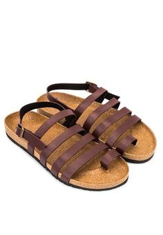 Make these Daniel Multi-Strap Sandals fromFrassino Collezioneyour new weekend hero. This pair of footwear features a strappy design reminiscent of gladiator sandals.- Polyurethane leather- Synthetic inner- Strappy- Toe loop- Ankle strap- Buckle detail- Synthetic sole