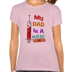Dad Is A Nurse Kids T-Shirts Pink T Shirt, Hoodie Sweatshirt