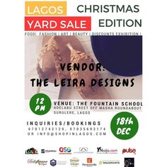 Vendor Alert : We Have @theleiradesigns on board.  Lagos Stand Up !!!