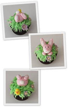 Delicious Easter cupcakes! = So Cute!!