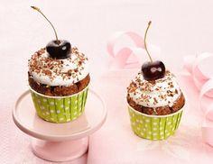 Schwarzwälderkirsch Cupcakes Rezept
