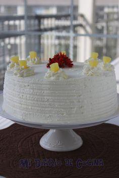 Torta de piña Homemade Cakes, Dory, Food Hacks, Food And Drink, Mothers, Baby Shower, Recipes, Moist Cake Recipes, Milk Jars