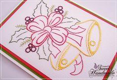 • Słodki Handmade • Haft na papierze