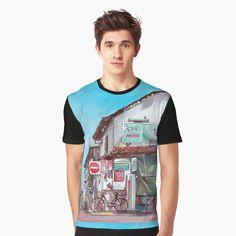 My T Shirt, Chiffon Tops, Tank Man, Classic T Shirts, Printed, Awesome, Mens Tops, Products, Art