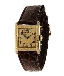 Original Vintage Rolex Unicorn Art Deco Dress Wristwatch, Switzerland ca 1925
